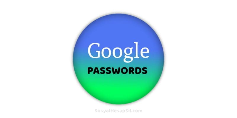 google passwords