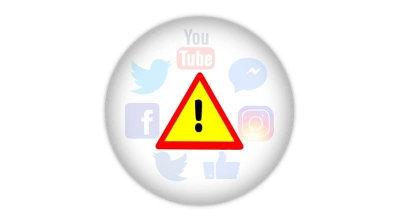 losses of social media